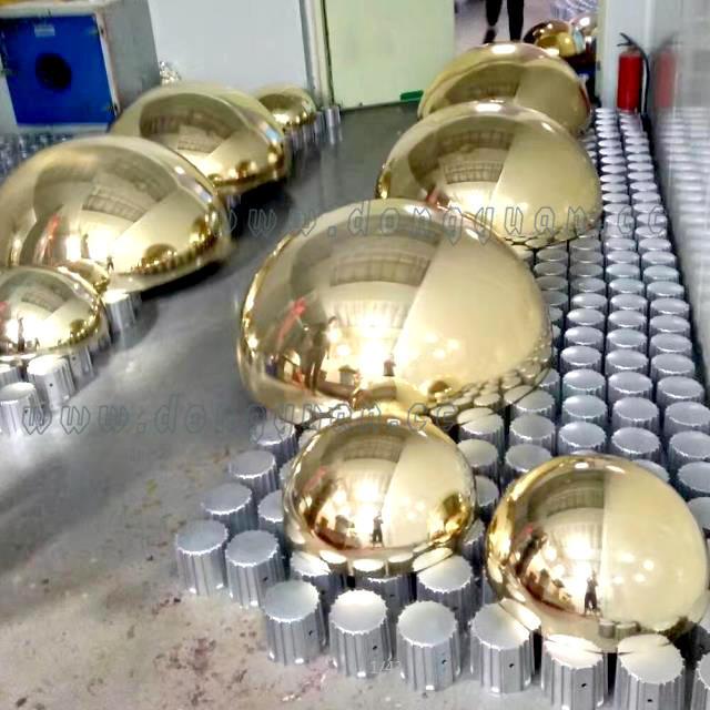 Hollow Decoration Ball Garden /Mirror Steel Metal Sphere for Garden Ornament