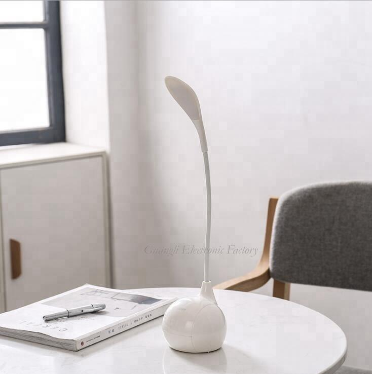 USB battery Simplified Touch sensor reading LED table lamp for desk