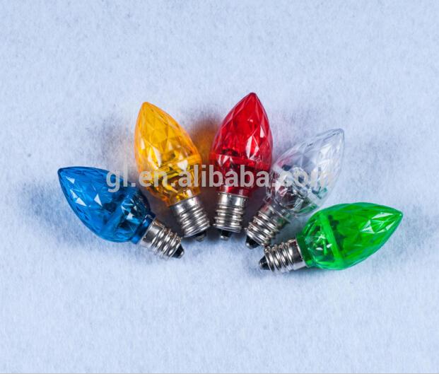 CE 110v 220v decorative E12 E14 plastic wholesale led bulb 4 pcs