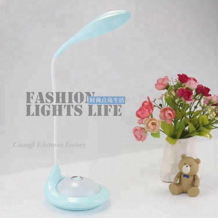 Battery type Touch sensor reading LED table lamp for desk