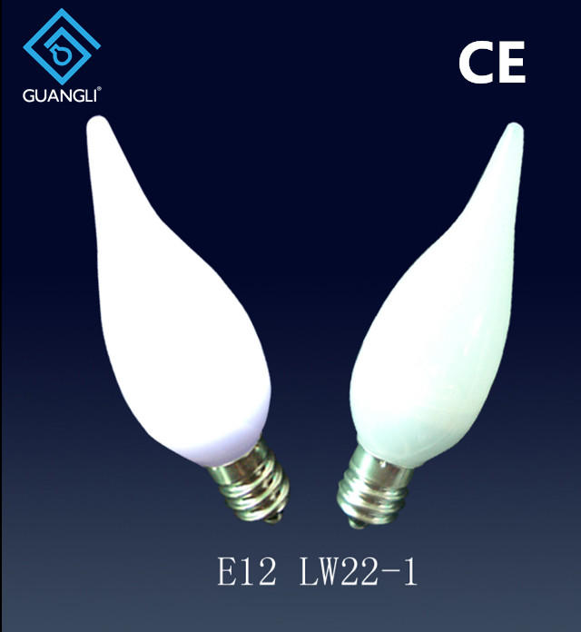 best selling candle holders lamp bulb type E12 E14 led candle light bulb night light