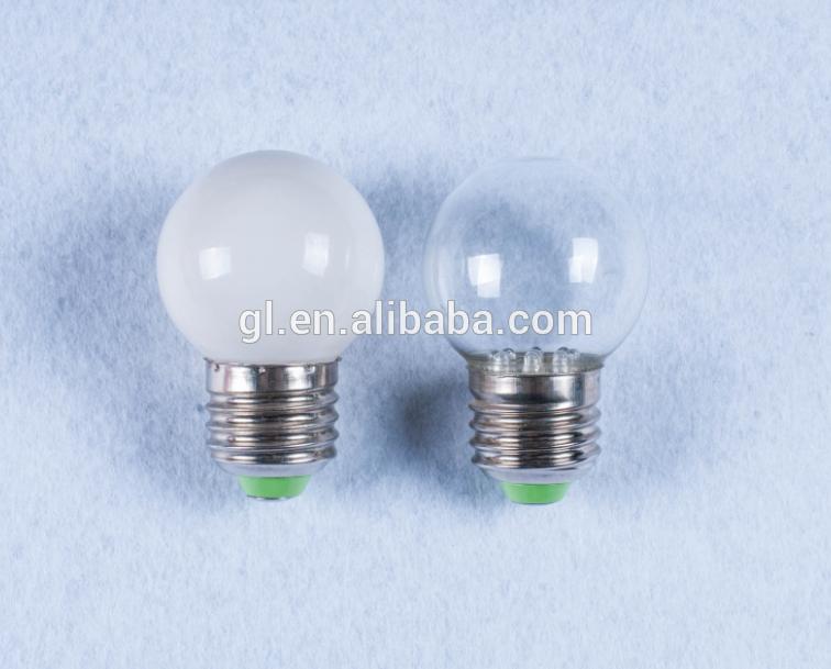 E27 B22 110V or 240v indoor led light bulb lamp type G40 7 LED