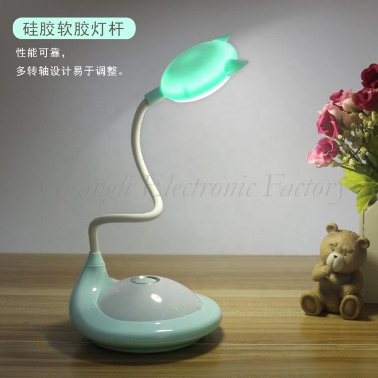 Battery type Touch sensor reading LED table lamp for children