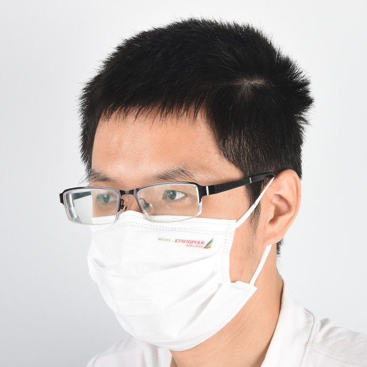 Customize all kinds of different colors of cloth and colorful logo disposablemasks