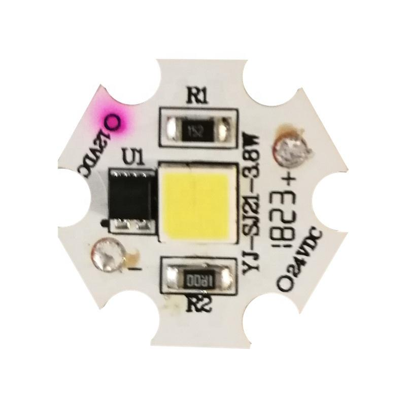 Low Voltage DC 24V 3.8WRa80 linear roundaluminium smd dob driverless led module pcb pcba for ceiling light Crystal lamp