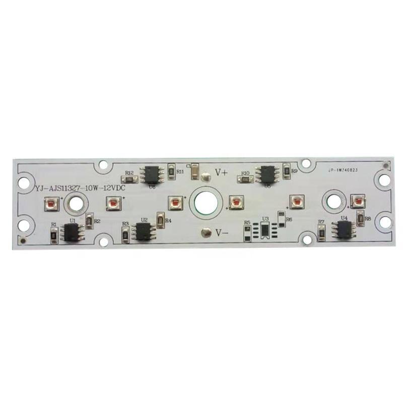 Low Voltage DC 12V 10W C-ree 3535 XPE2 625-645nm LED DOB Driverless LED module pcba for Machine Vehicles Cars Work Light