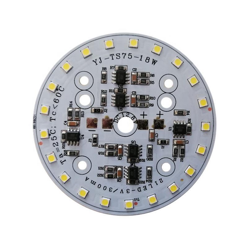 Low Voltage DC 12V 18W CE RoHs certification DOB driverless LED module pcba for signal light work light for boat