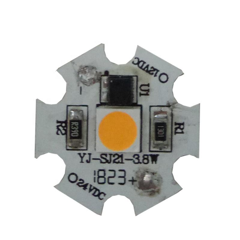 Low Voltage DC 12V 3.8WRa80 linear roundaluminium smd dob driverless led module pcb pcba for ceiling light Crystal lamp