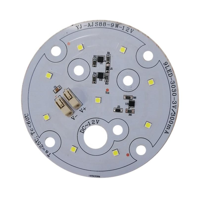 Low Voltage DC 12V 120lm/W 9W CE RoHs certification DOB driverless LED module pcba for industrial cnc LED machine work light