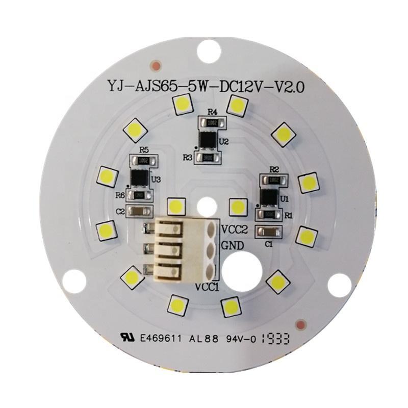 Low Voltage DC 12V Constant Current 125lm/W 5W CE RoHs certification DOB driverless LED module pcba for Forklift truck LED light