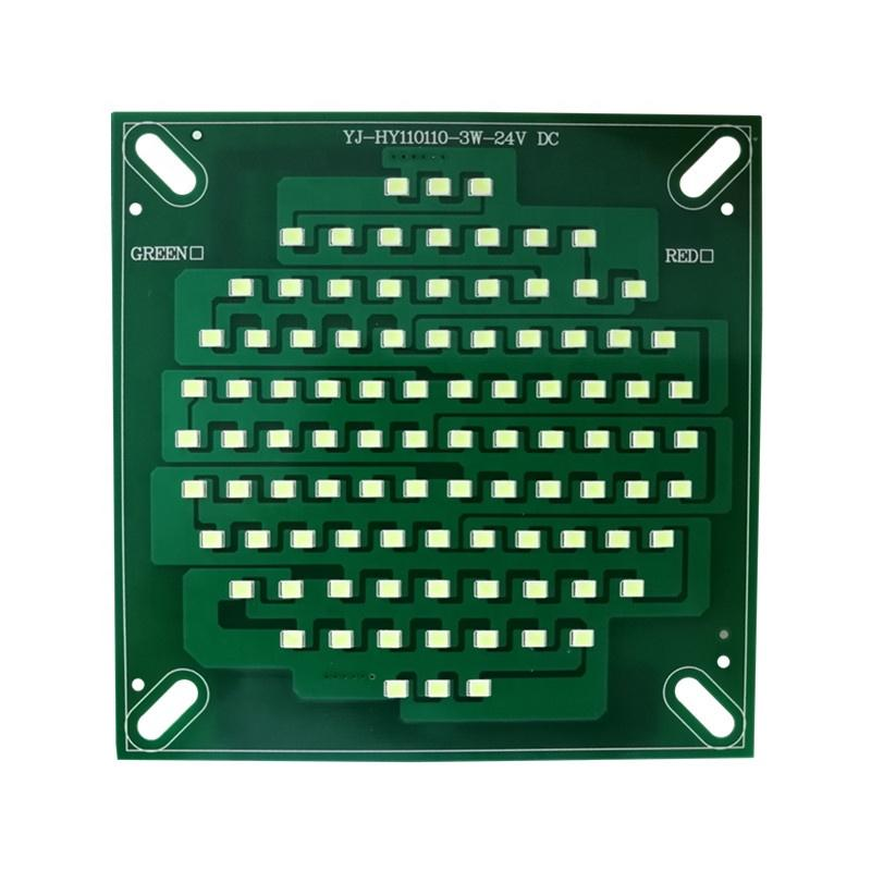 Low Voltage DC 24V 3W CE RoHs certificationdob driverless smd led module pcba for multicolor LED Signal Warning Tower Light