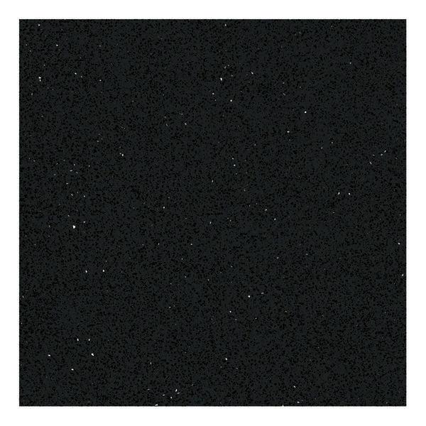 Black quartz crystal sand countertop