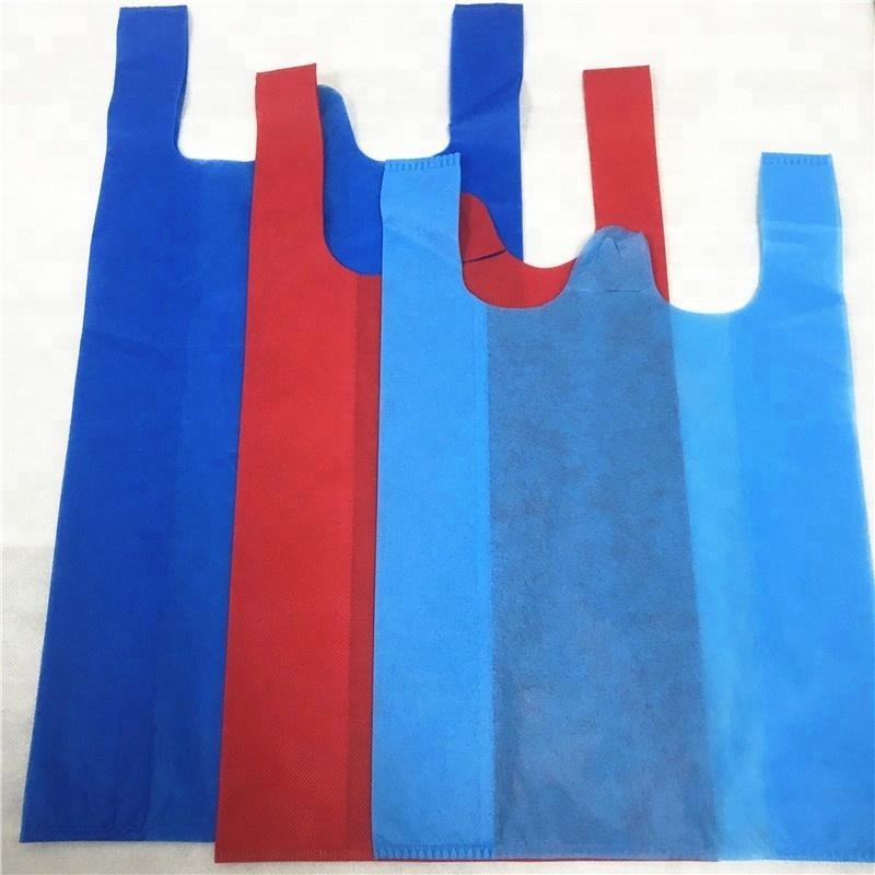 HOT sale T-shite cut bag use 100%PPspunbond nonwoven fabric