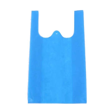 Hot Selling Eco-friendly Vest Bag PP Nonoven Fabric Material W-cut Bag Shopping Bags