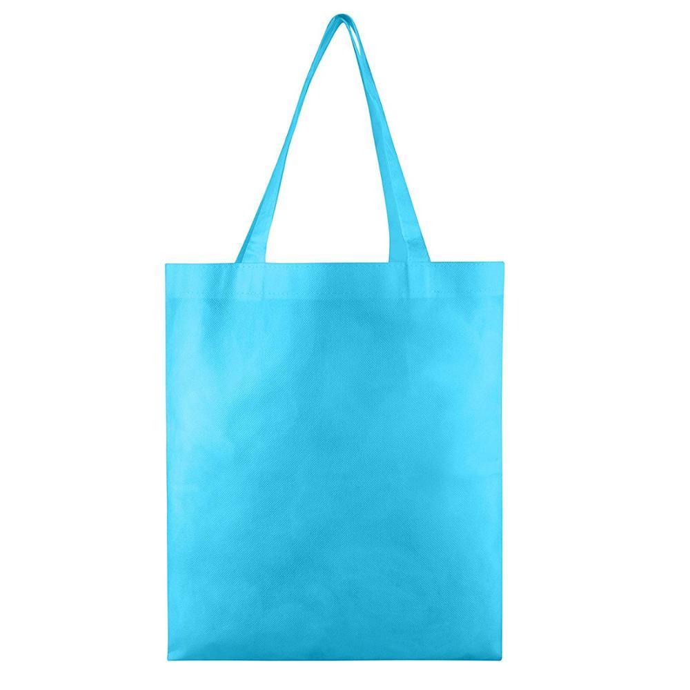 Hot sale Eco-friendly reusable supermarket bags spunbond plain wholesale non woven fabric shopping bag