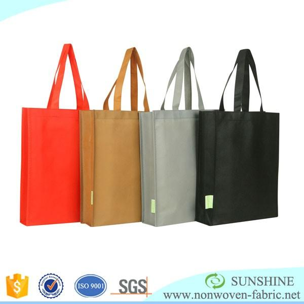 Nonwoven Fabric Bag With Custom Picture Printing Tote Bags Shopping