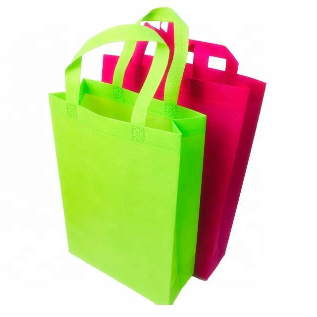 Promotion Cheap Ecological Reusable Non woven Advertising Shopping Bags Manufacturer