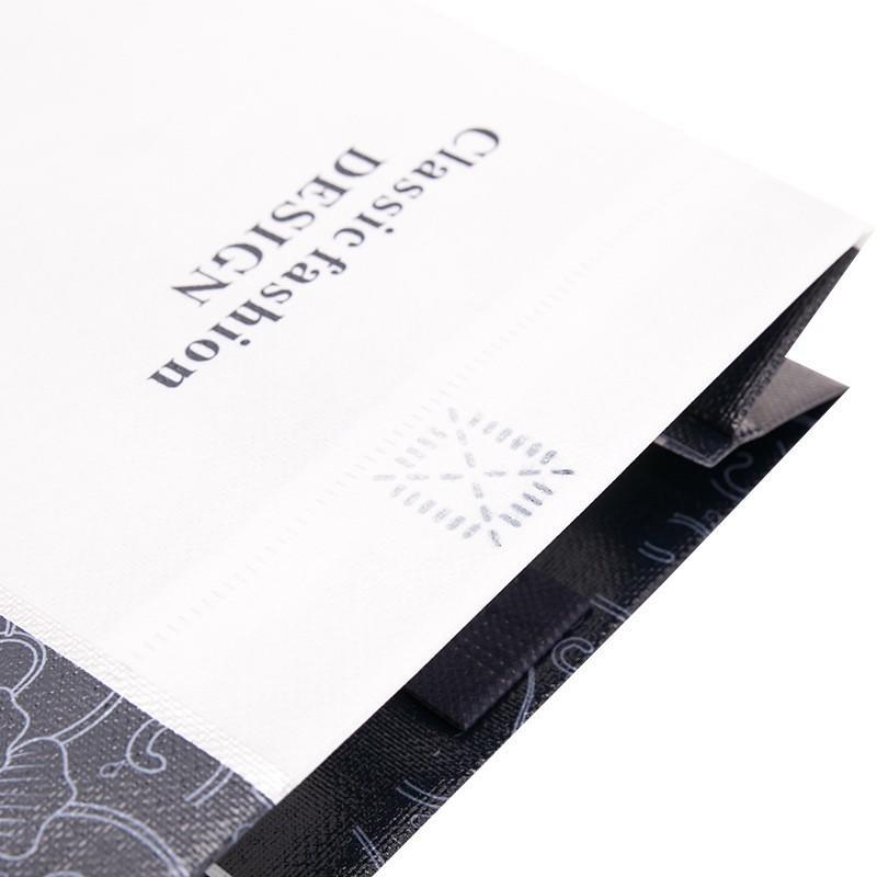 Eco friendly laminated non woven shopping bag