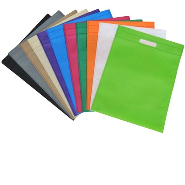 Die Cut Shopping bags PP Non Woven fabric Eco-friendly nonwoven bags