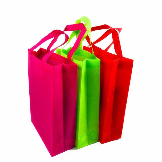 Cheap Price Custom Logo Printed Eco Friendly Fabric Carry Non Woven Bags Promotional Reusable Shopping Bag