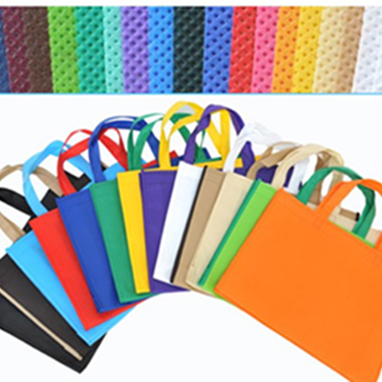 colour 100%pp eco-friendly shopping laminated non woven bag
