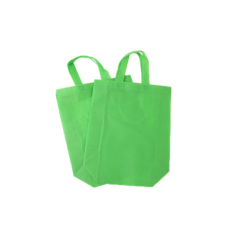 Hot saleeco shopping bag material 100% PP 80gsm nonwoven fabric