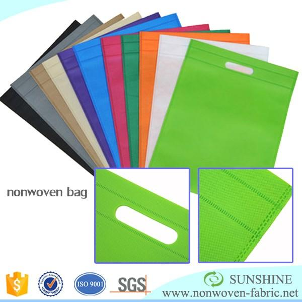 Factory make-to-order D-cut bagmaking material polypropylene spunbonded nonwoven fabric