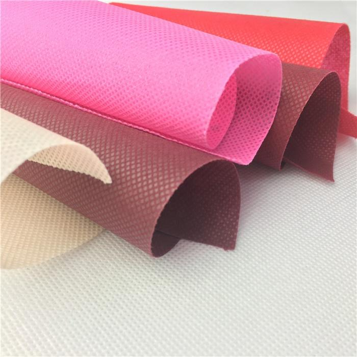 100% polypropylene nonwoven fabric price per kg/bag making material pp spunbond non-woven fabric/non woven fabric price