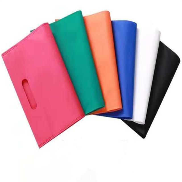 OEM PP non woven eco-friendly D-cut shopping bags manufacturer