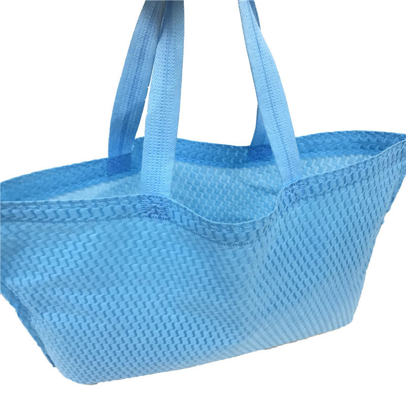 PP Spunbond Nonoven Fabric Material Embossed Bag non-woven Shopping Bags