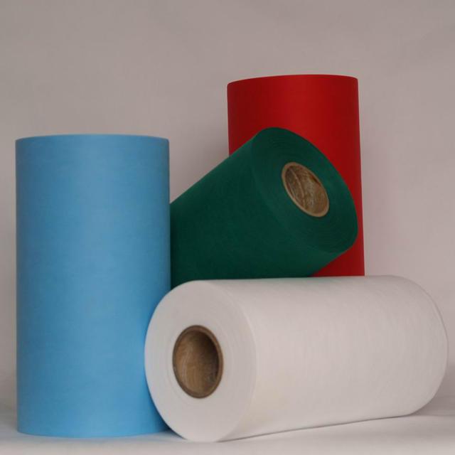 Full Color Range TNT Nonwoven Rollo Telas for Bag Making