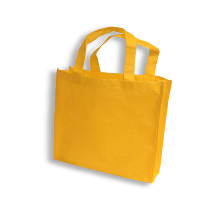2019 hot sale Excellent Quality environment-friendly Laminated Nonwoven Fabric Bag for shopping