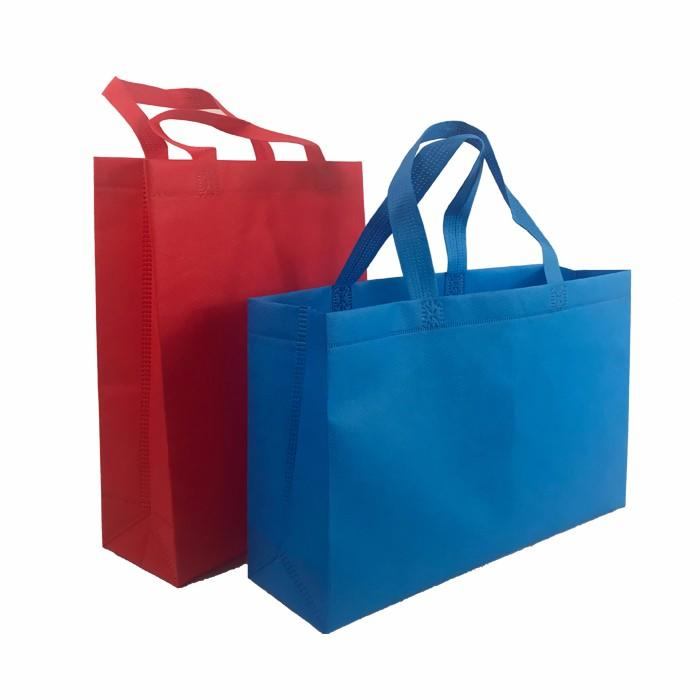 Hot Sale Recycle Custom 100% biodegradable Non Woven Bags PP Nonwoven Shopping Bag