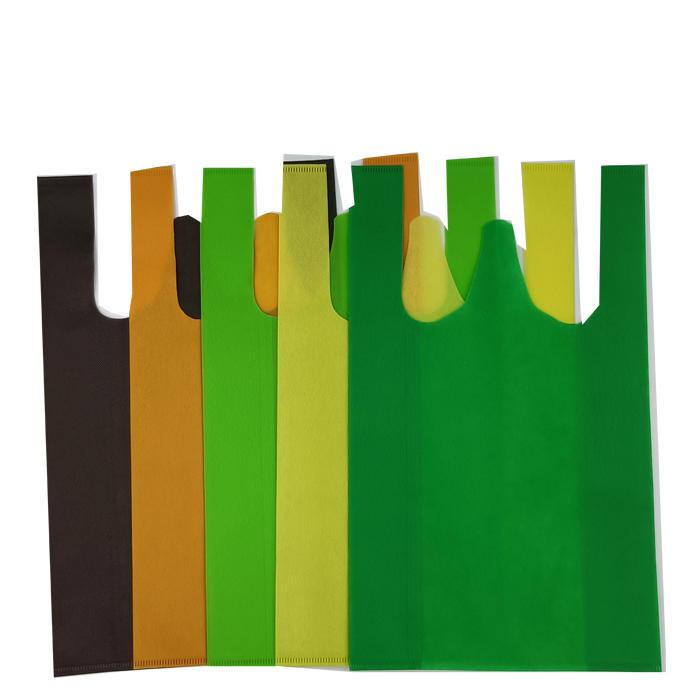 wholesale cheap shopping bag bio degradable nonwoven eco bag