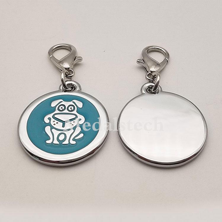 Wholesale Custom ShapeDog Tag ID Number Pet TagSupport Printing NFC QR Code Barcode