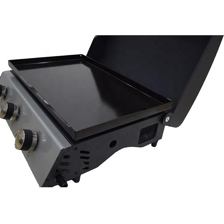 Tabletop Gas Grill Plancha Gas Grill Barbecue Gas Grill