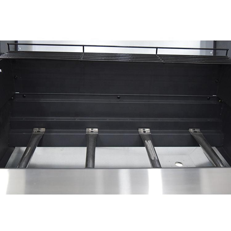 CE Approval Hot Sale Europe 4 Burner LPG Gas Barbecue Grill 6601-4011B4