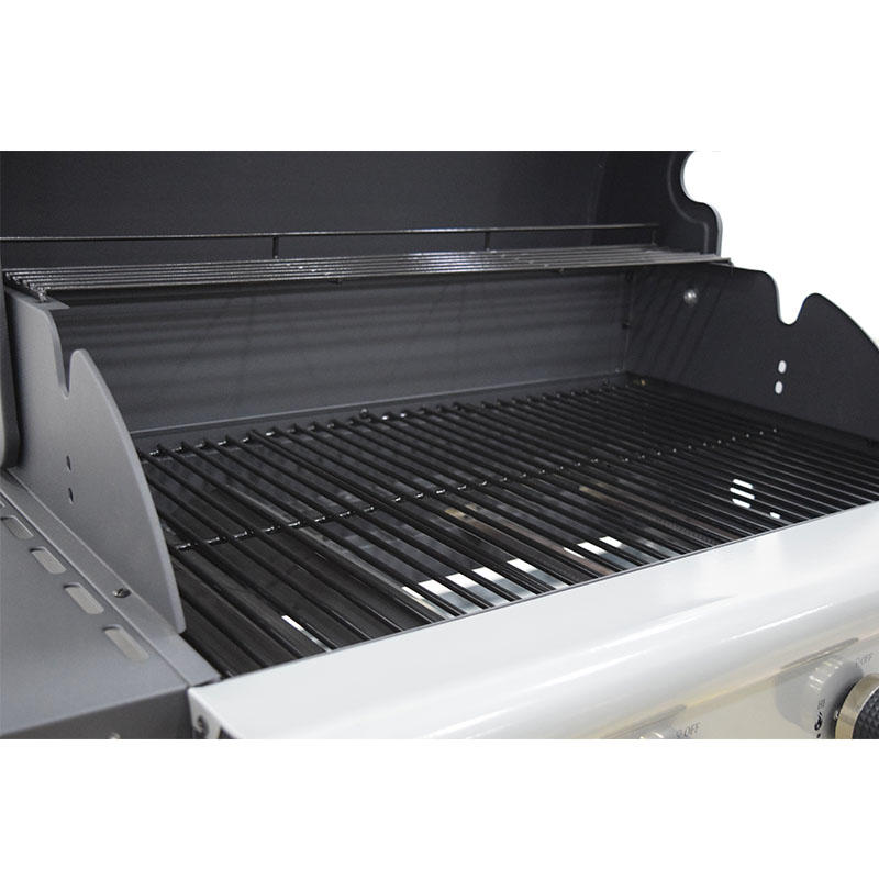 CE Approval BBQ Grills 4 Burner Gas Grilling Machine with Hooks6602-4020A1