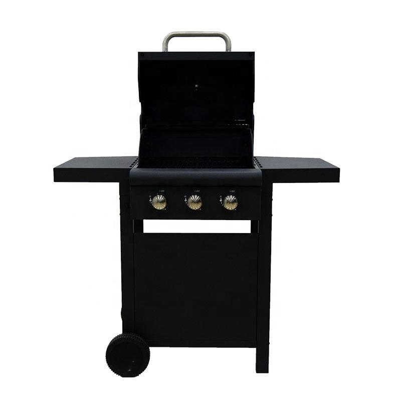 CE Approval 3 Burner Gas BBQ Grill Liquid Propane BBQ Gas Grill 6602P-3011A1