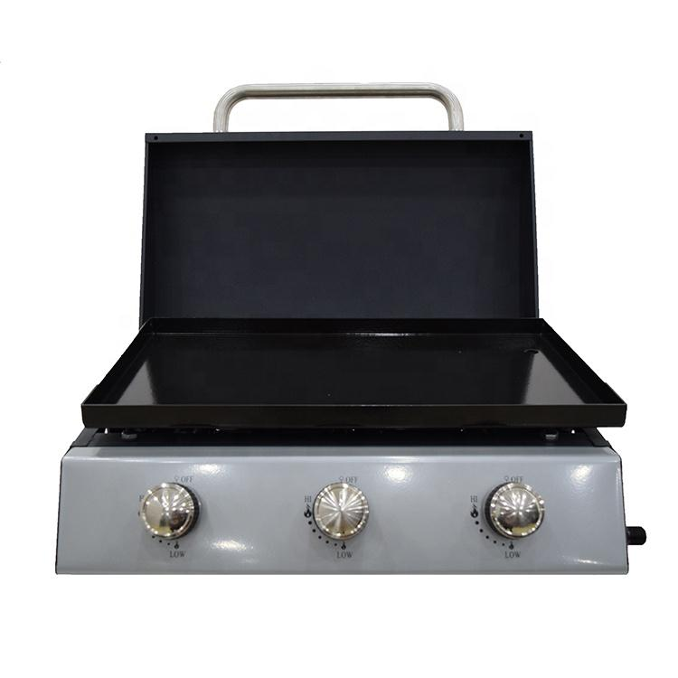 Plancha Gas BBQ Grill Table Top Barbecue Gas Grill BBQ Gas Grill