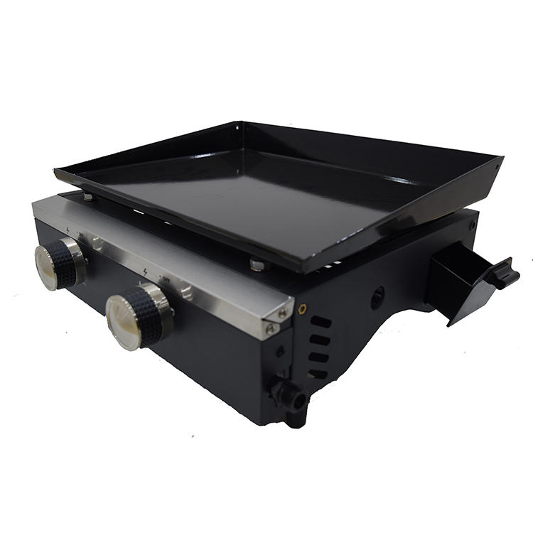Built-in Barbecue Gas Grill LPG BBQ Grill Plancha