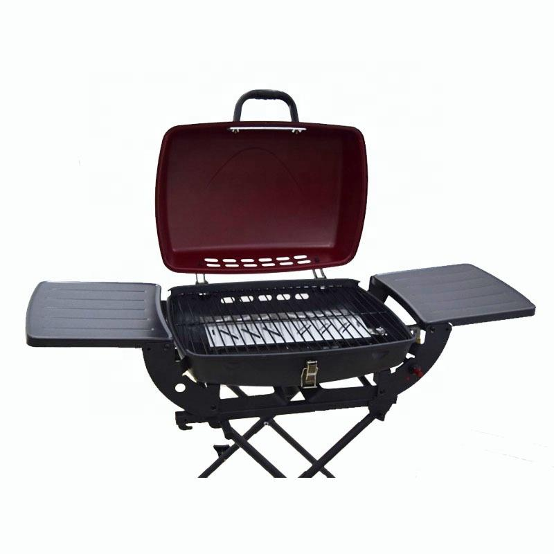 Tabletop Gas BBQ Grill Home Use Flameless Barbecue Gas Grill