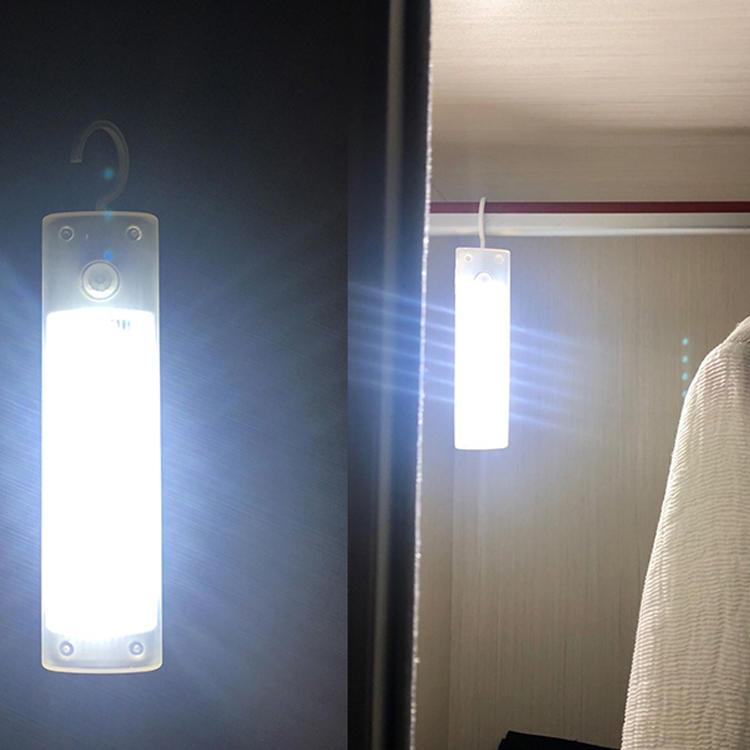 Cabinet StairsDrawer the wardrobe LightMagnet led night lamp Super Bright PIR Sensor Portable Wireless Wall Closet