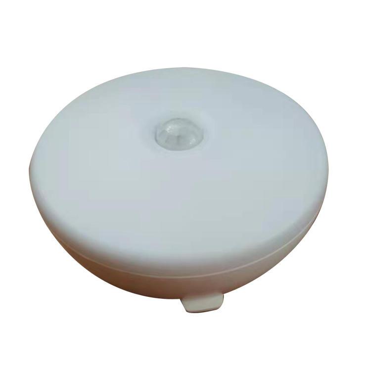 WA09-1 5LED 4.5V 1W ABS material motion sensor LED battery night light for stage bedroom