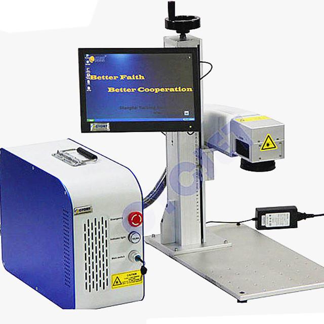 CYCJET Laser printing machine for led bulb logo