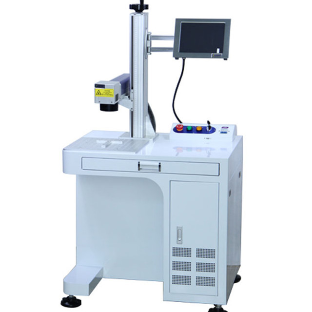 CYCJET30W Popular Smart Desktop Logo Printing/Batch code Laser Marking Machine Supplier