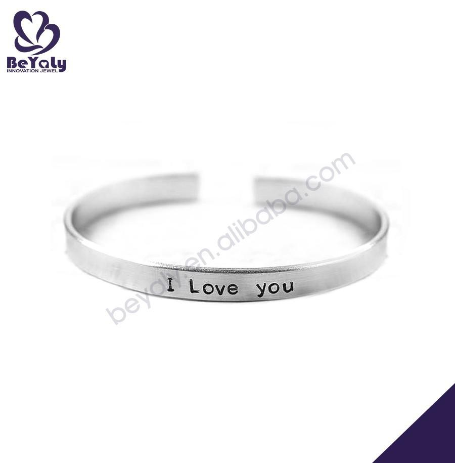 Excellent no minimum blank customized wholesale jewelry