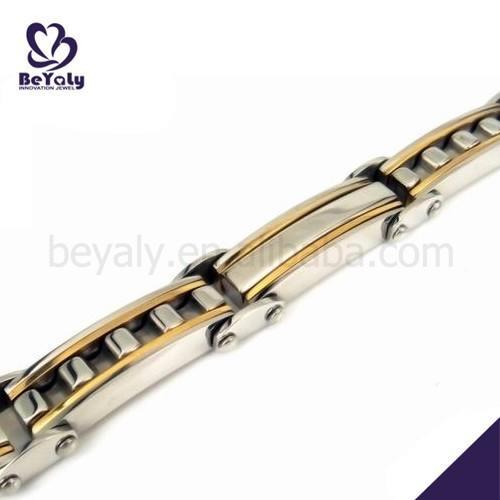 Testimonials daily wear stainless steel handcuff bracelet for men