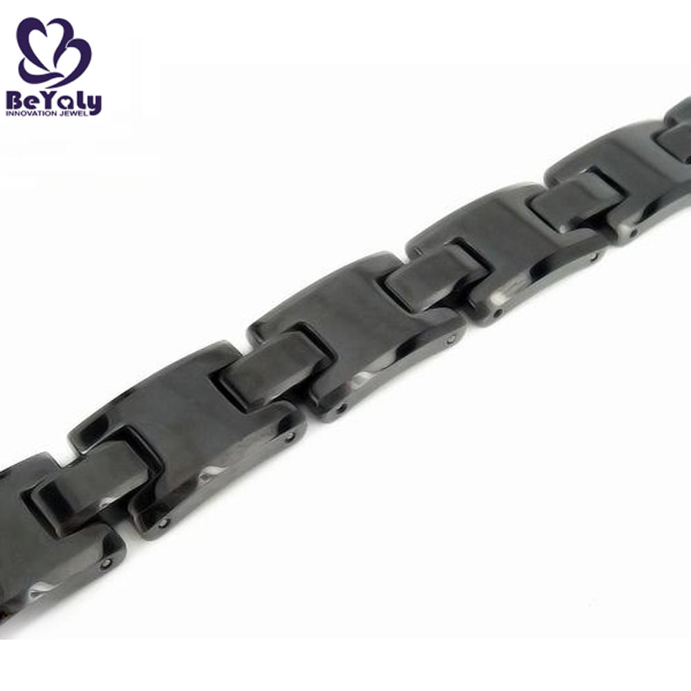 Black Color Popular Stainless Steel Fashion Jewelry In New York
