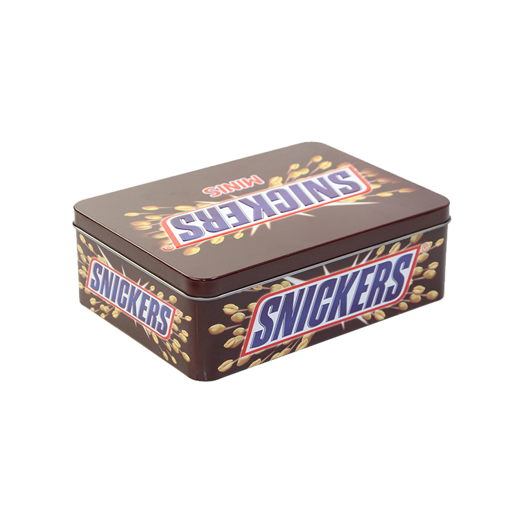 Rectangular Spices PackingMetal Tin Box for Cookies